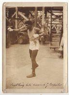 Photo Format 13 *18 Cm - Boxe - Battling Siki Vainqueur De G. Carpentier Au Nouveau Vélodrome Buffalo - Sports