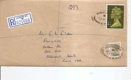 Grande-Bretagne ( Lettre Recommandée De 1984 De Londres Vers L'intérieur à Voir) - 1952-.... (Elisabeth II.)