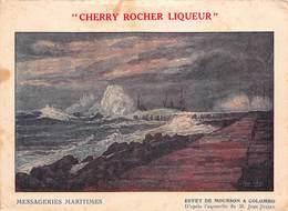 CPA MESSAGERIES MARITIMES - Cherry Rocher Liqueur - Effet De Mousson à Colombo - Sri Lanka (Ceylon)