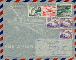 CHILE , CORREO AÉREO , PUERTO MONTT - BADEN - Chile