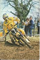 5-1985 ELF OLIO RENAULT ITALIANA-MOTOCROSS SUZUKI - Formato Piccolo : 1981-90