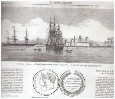 Gravure  1865 NOUVELLE GRENADE   Grenada Colombie - Colombia