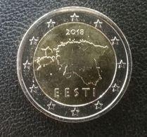 NEU 2018 Jahr Kursmünze UNZ Estland 2 Euro Aus Rollen  MAP - Estonia