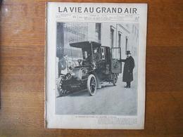 LA VIE AU GRAND AIR N°334 DU 2 FEVRIER 1905 DANS LES SABLES DE L'ALGERIE,LES CYCLISTES,LE COUREUR POULAIN,LE FOOTBALL A - Books, Magazines, Comics