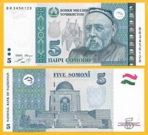 Tajikistan 5 Somoni P-23 1999 (2013) UNC - Tajikistan