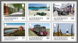 H01 Alderney 2017 Alderney Scenes MNH Postfrisch - Alderney