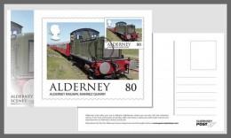 H01 Alderney 2017 Alderney Scenes Postcards MNH Postfrisch - Alderney