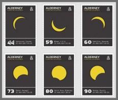 H01 Alderney 2017 Coastal Eclipses MNH Postfrisch - Alderney