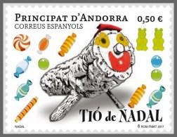 H01 Andorra (Spain) 2017 Christmas MNH Postfrisch - Andorra Spagnola