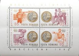 Romania  1992 Summer Olympics, Barcelona M/C - 1948-.... Republics