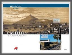 H01 Portugal 2017 Europa Castles Portugal Souvenir Sheet MNH Postfrisch - 1910-... Republik