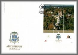 H01 Portugal 2017 Religion Archbishops Of Braga FDC MNH Postfrisch - Ungebraucht