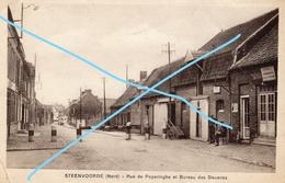 STEENVOORDE Rue De Poperinghe Et Bureau Des Douanes - Steenvoorde