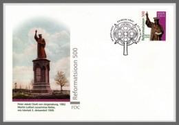 H01 Estonia 2017 Martin Luther Reformation FDC MNH Postfrisch - Estonie
