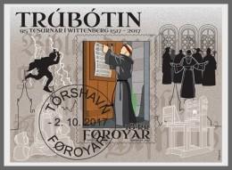 H01 Faroe Islands 2017 Martin Luther Reformation CTO MNH Postfrisch - Estland
