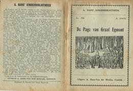 A. Hans Kinderbibliotheek Nr. 390 De Page Van Graaf Egmont - Boeken, Tijdschriften, Stripverhalen