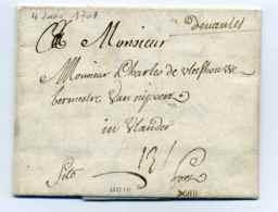 MP De Nantes   Manuscrit Lenain N°1  /  4 Janvier 1701 /  Dept De La Loire - 1701-1800: Précurseurs XVIII