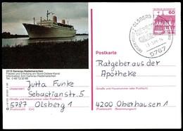 84762) BRD - P 138 - S9/133 - OO Gestempelt - 2215 Hanerau-Hademarschen, Nord-Ostsee-Kanal - [7] West-Duitsland