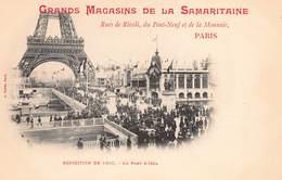 CPA Grands Magasins De La Samaritaine - Expositions De 1900 - Le Pont D'Iena - Exhibitions