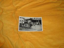 CARTE POSTALE ANCIENNE CIRCULEE DATE ?. / SAIGON.- UN TILBURY. CHEVAL A DEUX PLACES. - Viêt-Nam