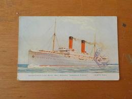 7204) Steamer Paquebot Liner Union-castle Line Royal Mail Steamer Armadale Castle - Paquebots