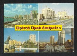 UAE United Arab Emirates 4 Scene Picture Postcard View Card - Dubai