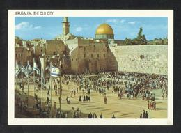 Palestine Jerusalem Mosque Picture Postcard View Card - Palestine