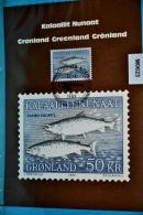 M0623 FDC Atlantische Lachs, Salmo Salar, Salmon, Saumon, Grönland, Fisch, Fish, Poisson, GL 1983 - Groenland
