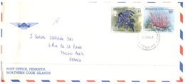 (120) Pacific Island Of Penrhyn To France 1994 Air Mail Cover (scarce) - Penrhyn