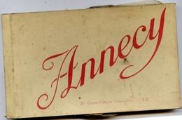 74 ANNECY - Album Carnet 20 Cartes Postales Détachables LL Et ND - Annecy