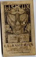 14 LISIEUX - La BASILIQUE - Album Carnet 10 Cartes Postales Détachables - Lisieux