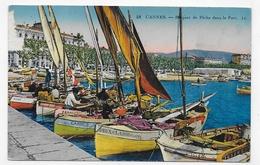CANNES - N° 48 - BARQUES DE PECHE DANS LE PORT - CPA NON VOYAGEE - Cannes
