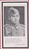Sterbezettel Deutscher Soldat Alois Fischer Artillerie Regiment Ostfront Sterbebild Weltkrieg WK 2 II World War WW2 WWII - 1939-45