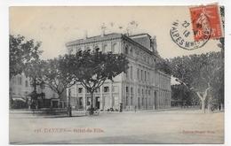 CANNES EN 1913 - N° 138 - HOTEL DE VILLE AVEC VELO - CPA VOYAGEE - Cannes