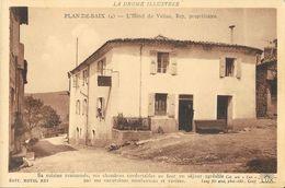 Plan-de-Baix (Drôme) - L'Hôtel Du Vellan - Edition Lang Fils - Carte N° 4 Non Circulée - Other Municipalities