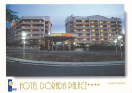 ESPAGNE---RARE--SALOU---hôtel DORADA PALACE--costa Dorada--voir 2 Scans - Tarragona