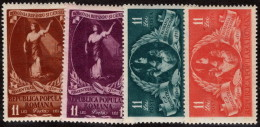 ROM SC #787-90 MNH 1951 C. D. Rosenthal, Painter/Death Cent. CV $8.00 - 1948-.... Republics