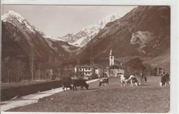 AOSTA - VALDIGNA D'OSTA - M. CRAMMONT E MONTE BIANCO......F5 - Aosta