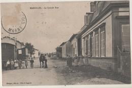 CPA 51. Marolles La Grande Rue - Autres Communes