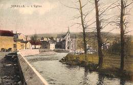 Jemelle - L'Eglise (colorisée, Edit Chaudoir, 1923) - Rochefort