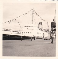 MINI PHOTO--RARE--29---BREST  Juin 1964--bâteau DUKE DE LANCASTER----voir 2 Scans - Photography