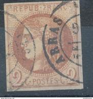 N°40 BORDEAUX CACHET A DATE - 1870 Bordeaux Printing