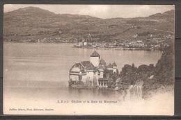 Carte P ( Suisse / Château De Chillon Et La Baie De Montreux ) - VD Vaud