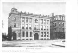 Taunton, CIty Hall (published By The Metropolitan News Co) - Etats-Unis