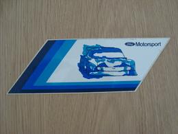 AUTOCOLLANT MOTOSPORT FORD - Stickers