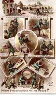 CPA Militaria Patriotique   SYSTEME D MIS EN PRATIQUE PAR NOS POILUS ? - Guerre 1914-18
