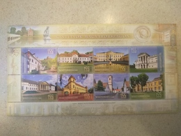 Hungary 2018. Castles Very Nice Big - Sheet MNH (**) - Unused Stamps