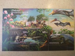 Hungary 2018. Animals / Flowers / Dinosaurus Very Nice Sheet MNH (**) - Stamps