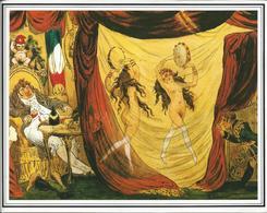 Joséphine De Beauhanais  Et Mme Tallien Dansant Devant Barras Et Bonaparte Image  Cabiner Des Estampes - Andere
