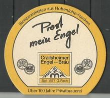 Bierdeckel Deutschland Crailsheimer Engel-Bräu - Sous-bocks